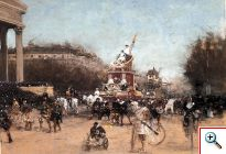 Paintings of French Artist Painter Luigi Loir
