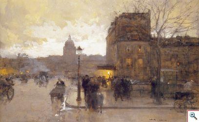 Paris pour Luigi Loir