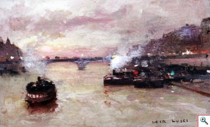 Paris Paintings by Luigi Loir